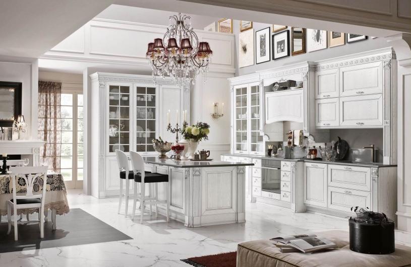 Кухня Dolcevita Bianco Decape Argento