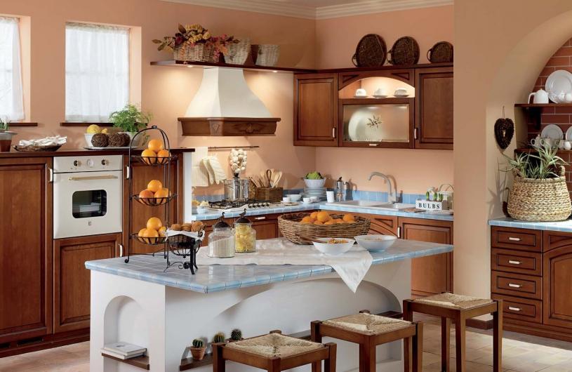 итальянские кухни Treo cucine Carlotta