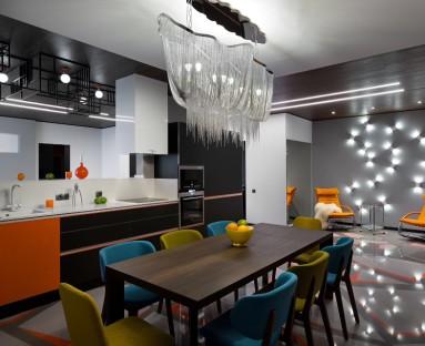 Кухня в стиле минимализм от Meson's